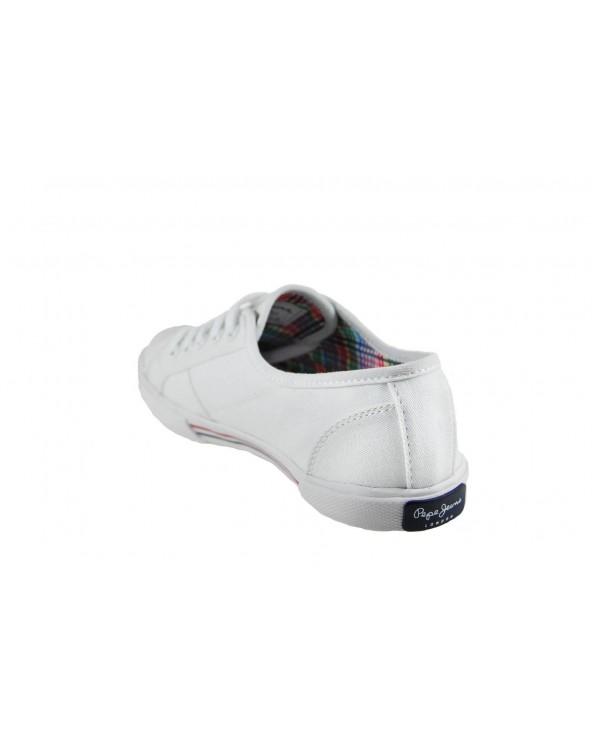 Trampki  Pepe Jeans - PLS30500 biały