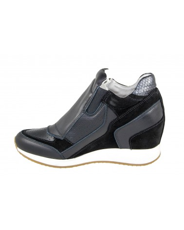 GEOX - sneakersy na koturnie