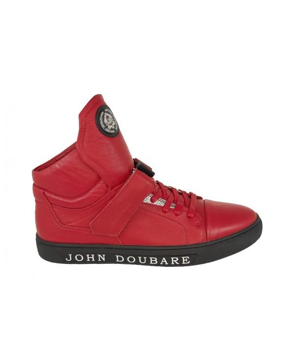 Botki sportowe JOHN DOUBARE - M78516-3 czerwony