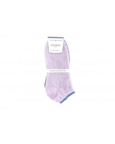 Skarpety TOMMY HILFIGER - 383003001 027 różowy, fioletowy
