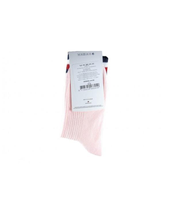 Skarpety TOMMY HILFIGER - 383004001 450 różowy