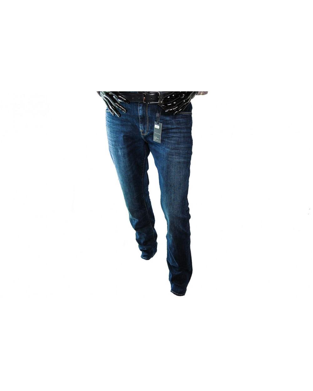 b44e69f60 Spodnie TOMMY HILFIGER- MW0MW08674 911 granatowe