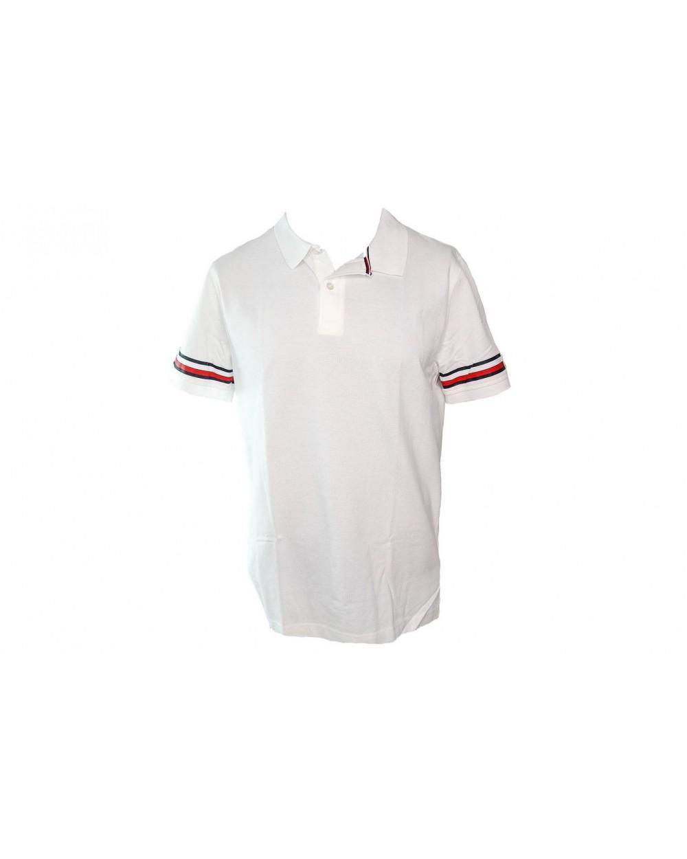 12cb5d195ce60 Koszulka Polo TOMMY HILFIGER- MW0MW09750 100 biała