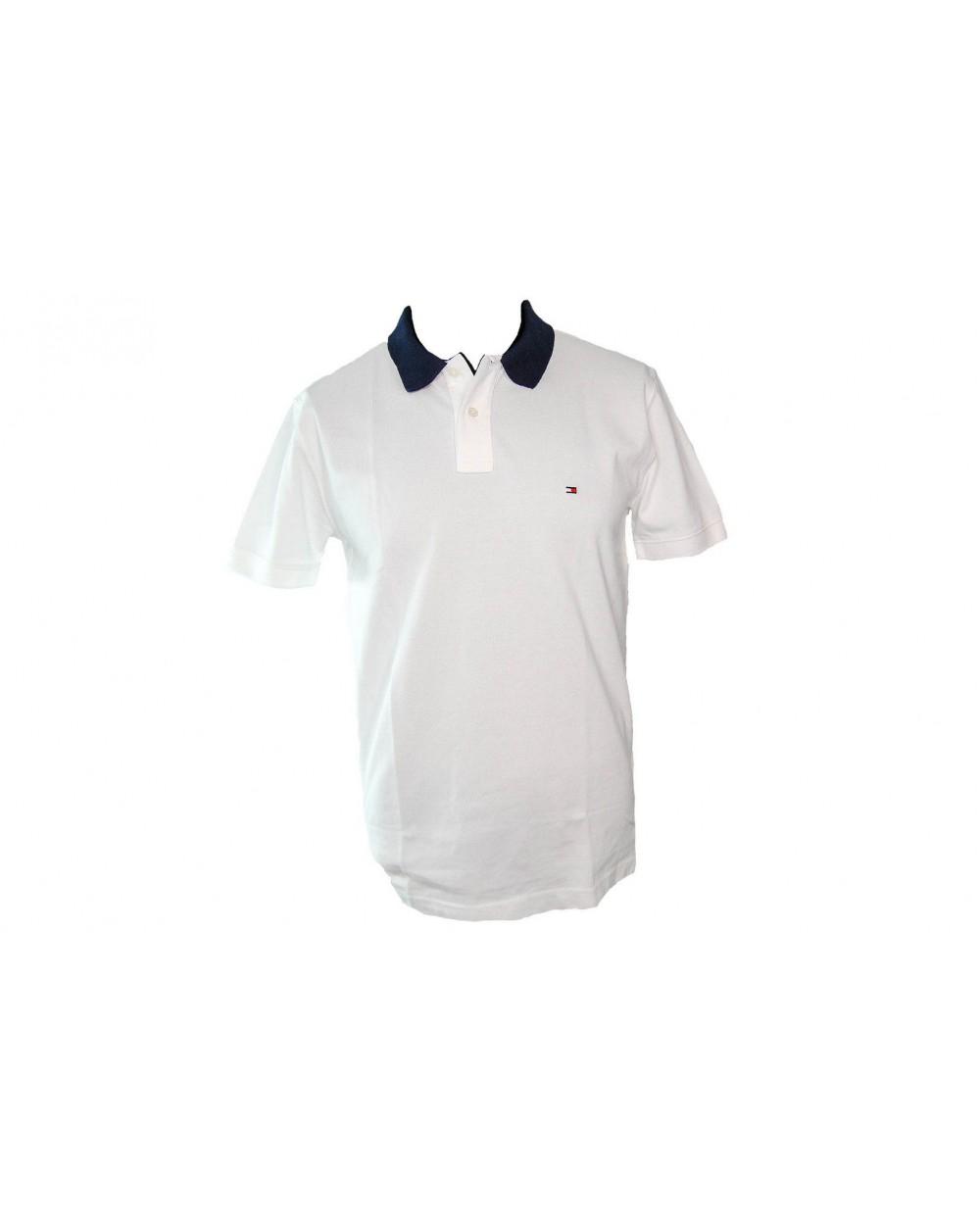 946def711 Koszulka Polo TOMMY HILFIGER- MW0MW09735 100 biała