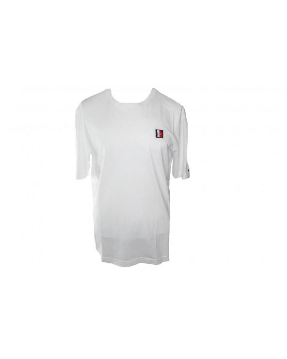 T-shirt TOMMY HILFIGER- MW0MW09828 100 biały