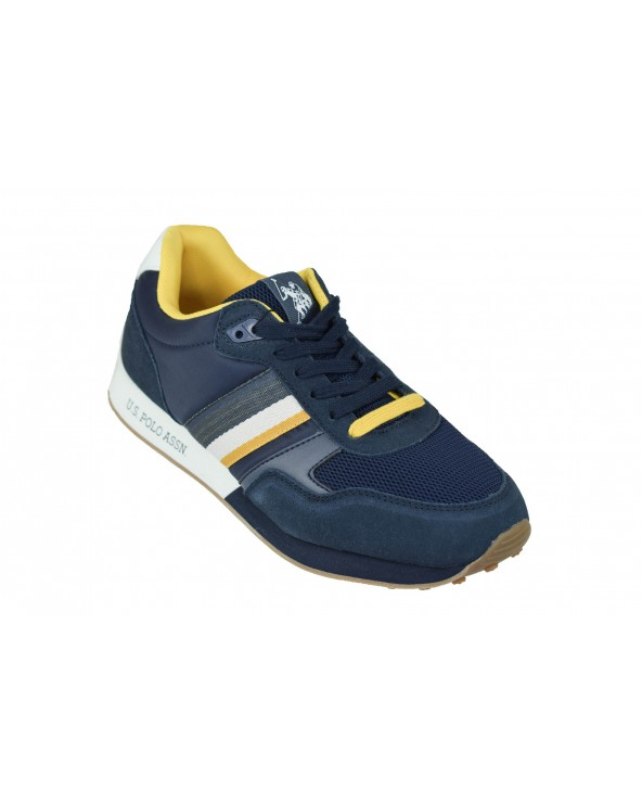 Sneakersy U.S POLO ASSN - FLASH4088S9/SN1 granatowy