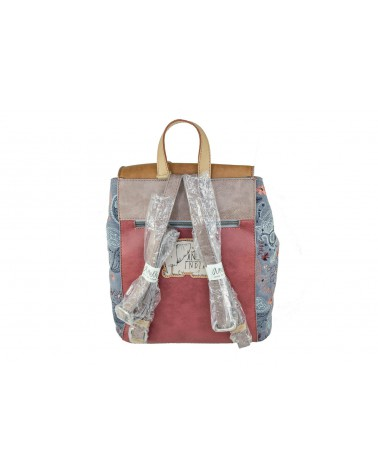 Plecak ANEKKE - 28875-05 brązowy,fioletowy