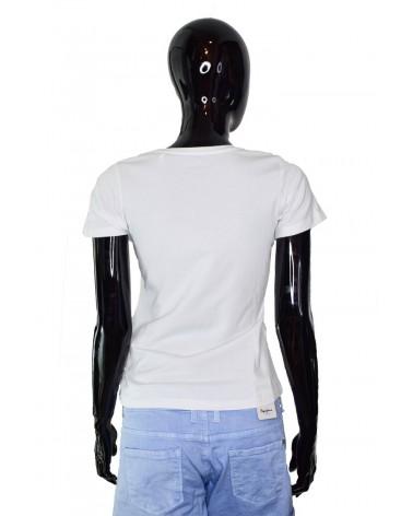T-shirt PEPE JEANS - PL504068 biały