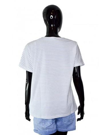 T-shirt PEPE JEANS - PL504072 biały