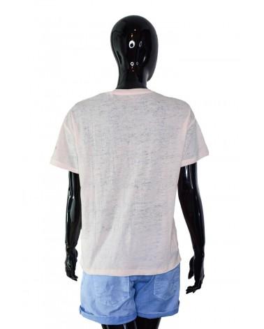 T-shirt PEPE JEANS - PL504097 łososiowy