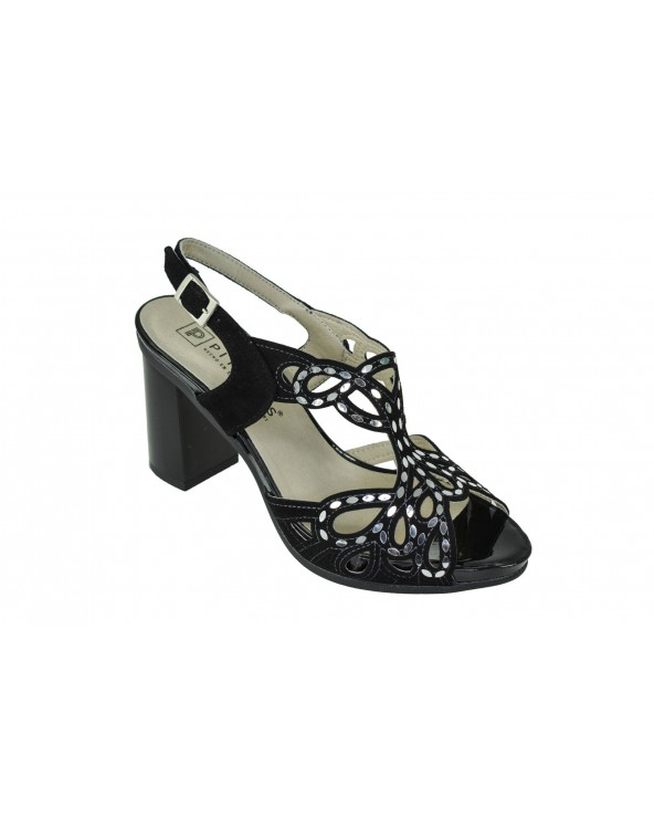 Sandały PITILLOS - 5580 czarny