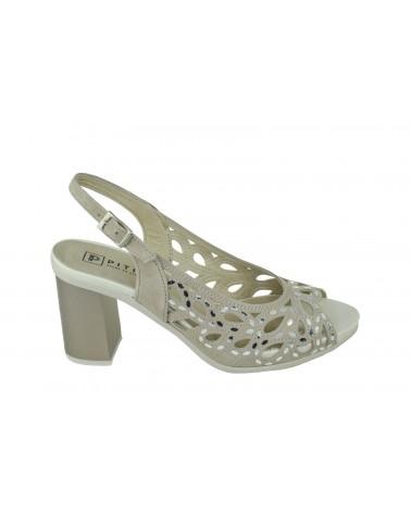 Sandały PITILLOS - 5581 beżowy