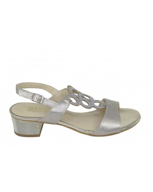 Sandały GAMIS - 3672 złoty