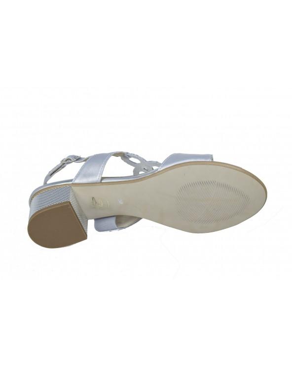 Sandały GAMIS - 3672 srebrny