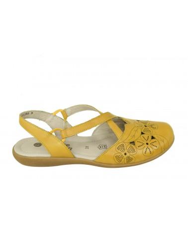 Półbuty REMONTE - R3802-68 żółty