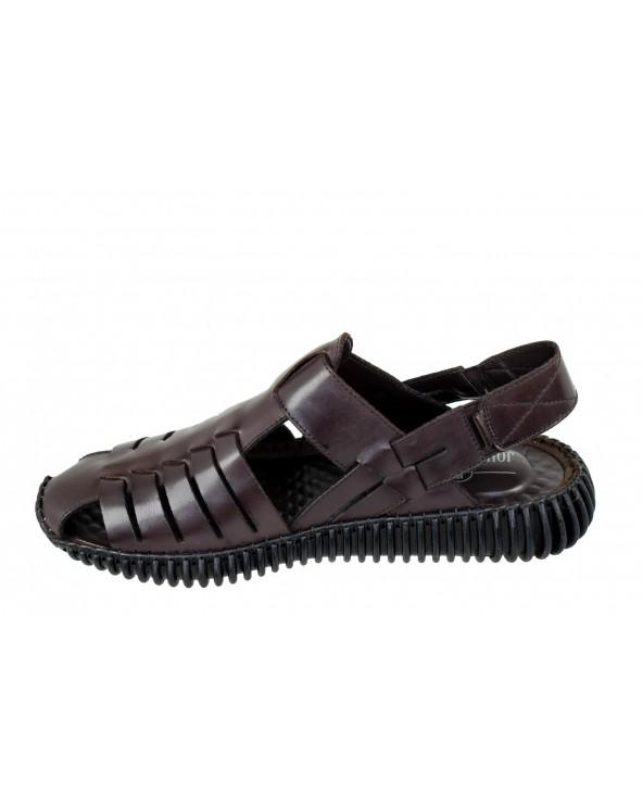 Sandały JOHN DOUBARE - 0215-3 - brązowy