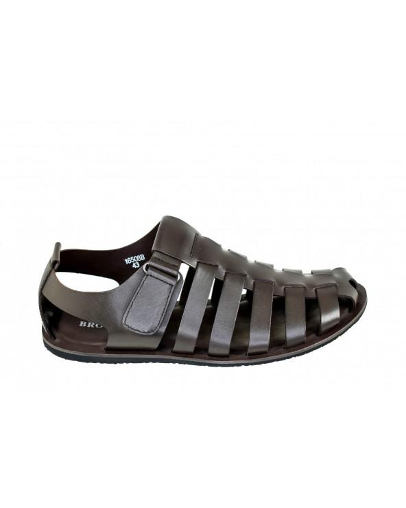 Sandały BROOMAN - 16508 - brązowy
