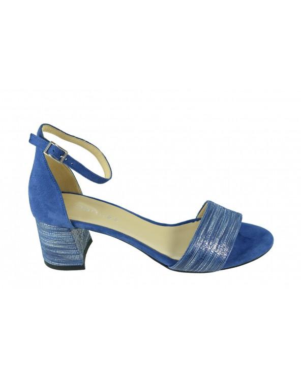 Sandały DAMISS - DS-252/A niebieski