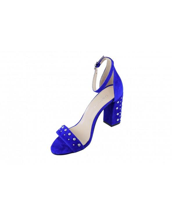 Sandały DAMISS - DS-254/AC niebieski