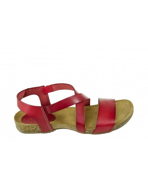 Sandały SPK SHOES - 925 czerwony
