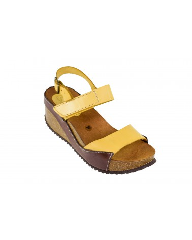 Sandały SPK SHOES - 954 żółty