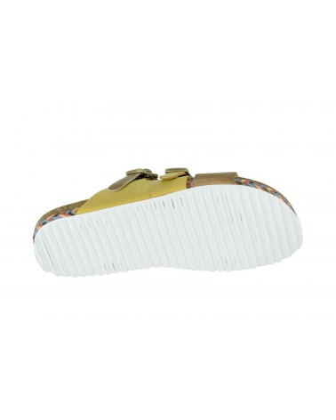 Klapki SPK SHOES - 993 żółty