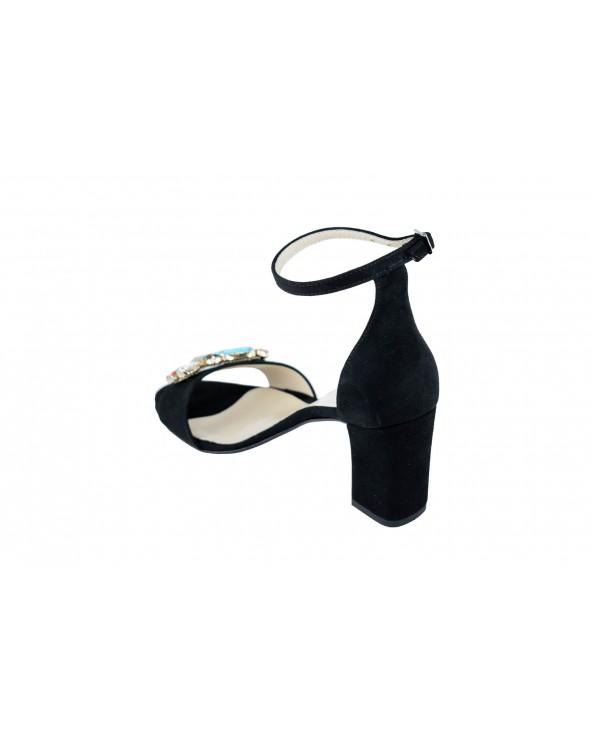 Sandały DAMISS - DS-284/A czarny