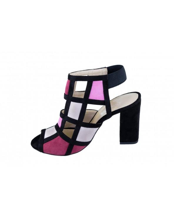 Sandały DAMISS - DS-274/A różowy