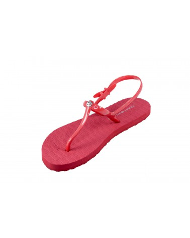 Sandały TOMMY HILFIGER - FW0FW03923 611 czerwony