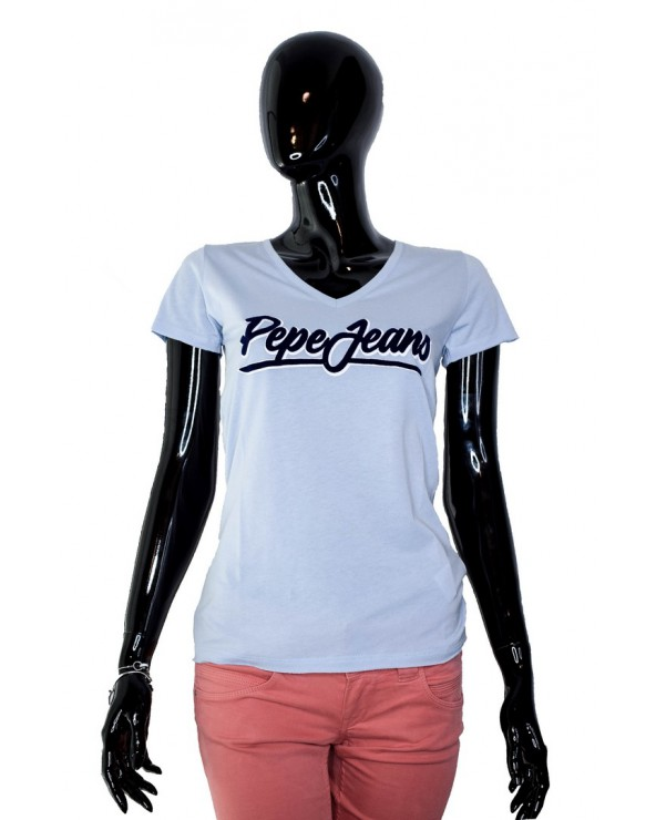 T-shirt PEPE JEANS - PL504076 niebieski