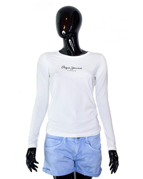 Bluzka PEPE JEANS - PL502755 biały
