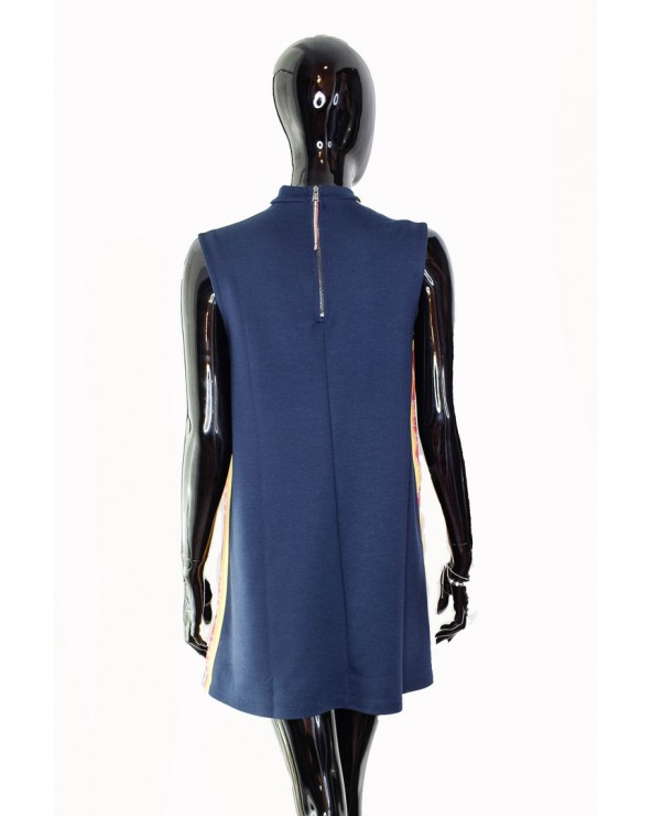 Sukienka Tommy Hilfiger - DW0DW06324 002 granatowy