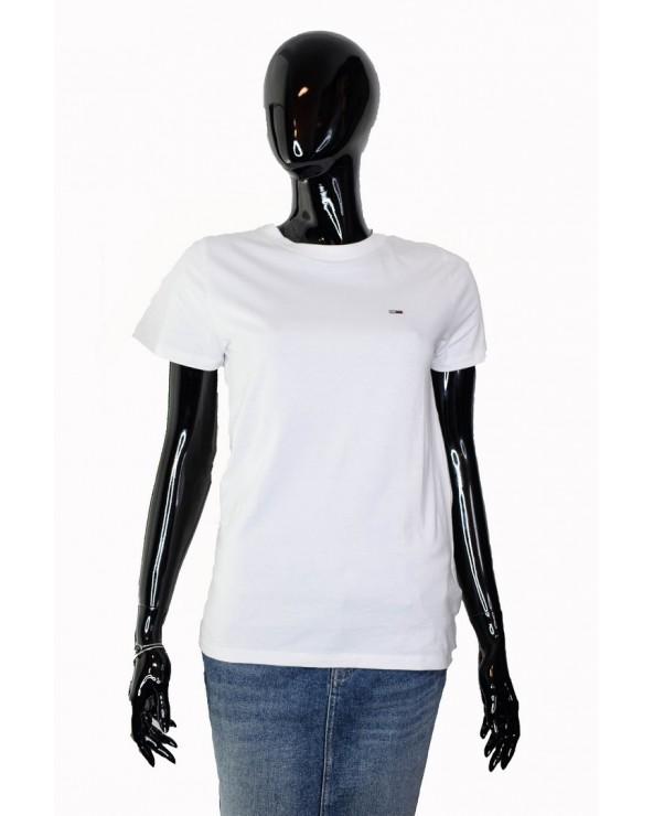 Koszulka Tommy Hilfiger - DW0DW04681 100 biały