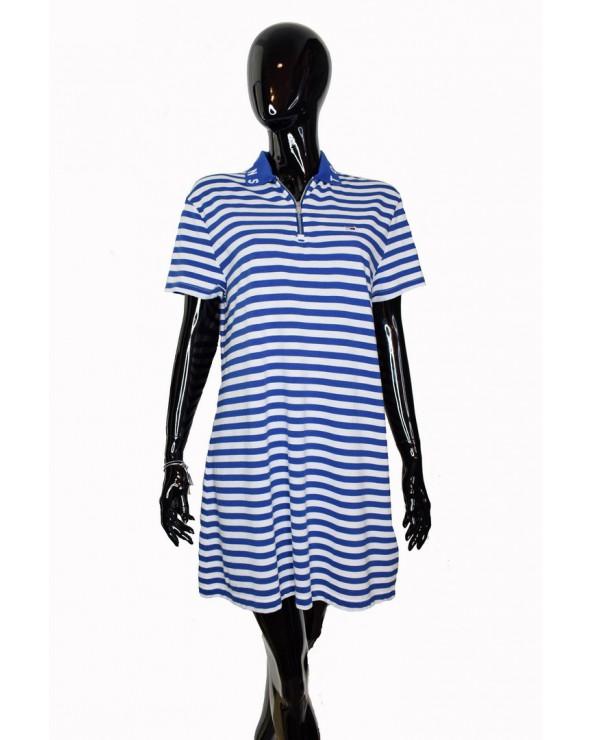 Sukienka TOMMY HILFIGER - DW0DW06176 434 niebieski,biały