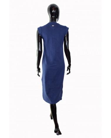 Sukienka TOMMY HILFIGER - DW0DW06175 002 granatowy
