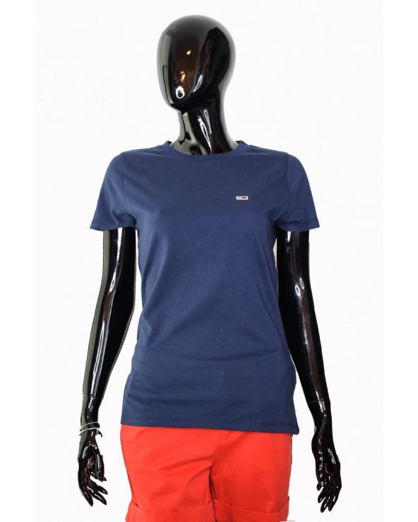 Koszulka Tommy Hilfiger - DW0DW04681 002 granatowy