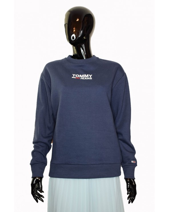 Bluza Tommy Hilfiger - DW0DW06124 002 granatowy