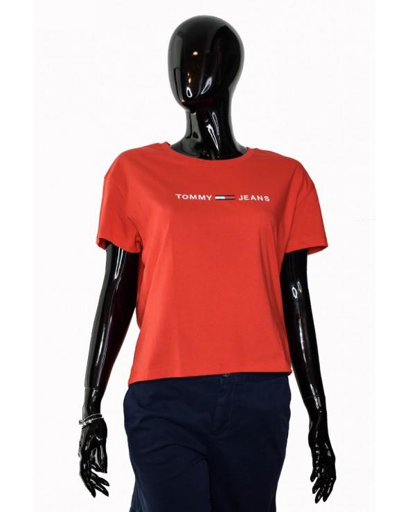 Koszulka Tommy Hilfiger - DW0DW05455 667 czerwony