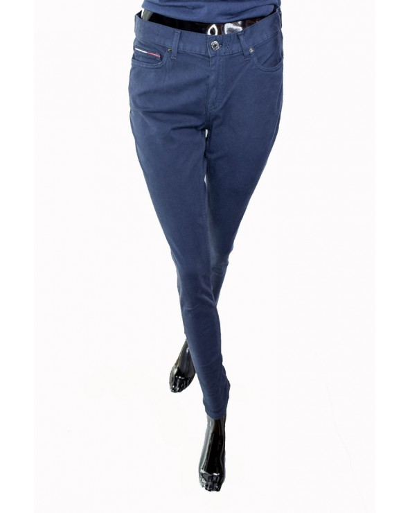 Spodnie TOMMY HILFIGER- DW0DW05317 002 granatowy