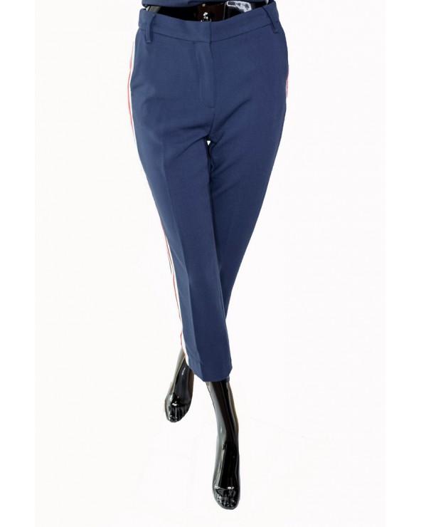 Spodnie TOMMY HILFIGER - DW0DW06241 002 granatowy