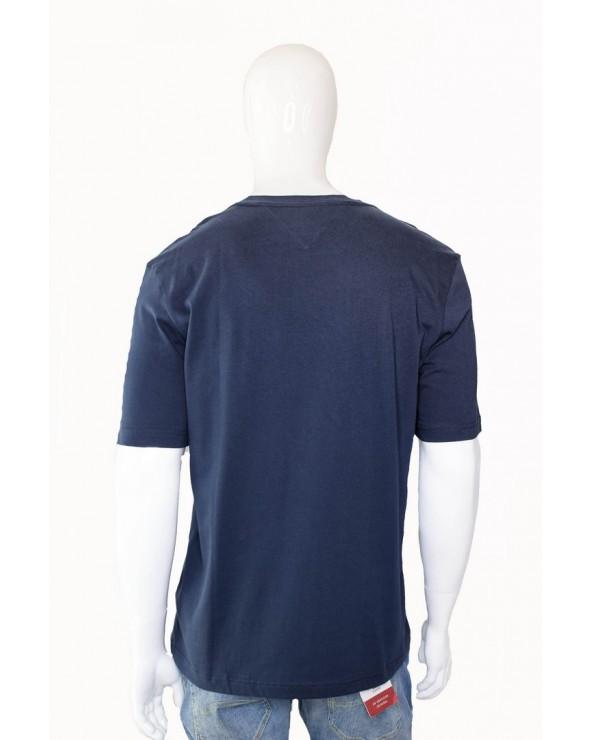 Koszulka TOMMY HILFIGER - MW0MW09828 403 granatowy