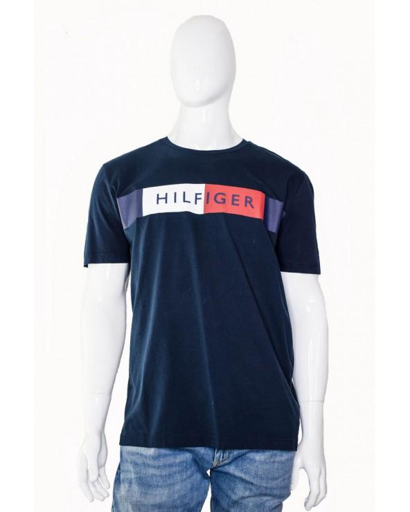 Koszulka TOMMY HILFIGER - MW0MW09827 403 granatowy