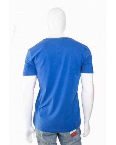 Koszulka TOMMY HILFIGER- MW0MW09817 431 niebieski