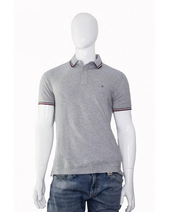 Koszulka Polo TOMMY HILFIGER- MW0MW09734 501 szary
