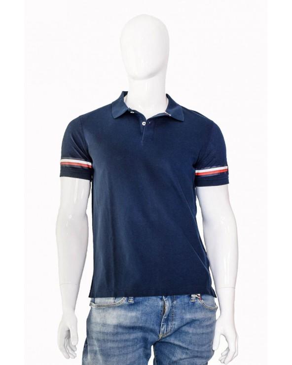 Koszulka Polo TOMMY HILFIGER- MW0MW09750 403 granatowy