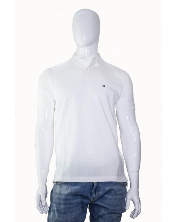 Koszulka Polo TOMMY HILFIGER- MW0MW04976 100 biały