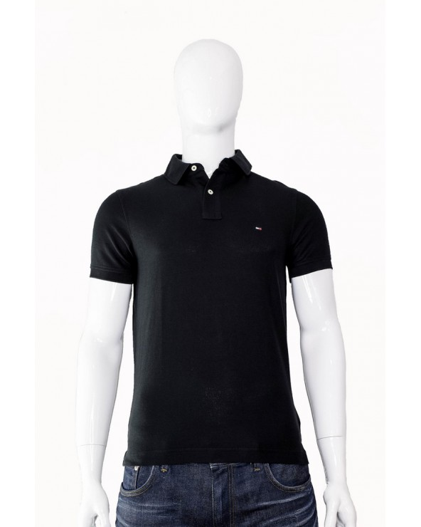 Koszulka Polo TOMMY HILFIGER - 0867878624 060 czarny