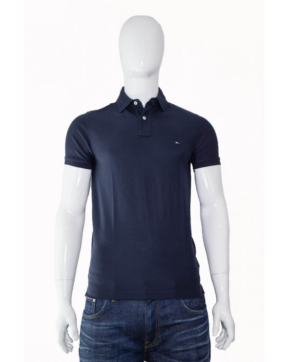 Koszulka Polo TOMMY HILFIGER  - 0867878624 403 granatowy