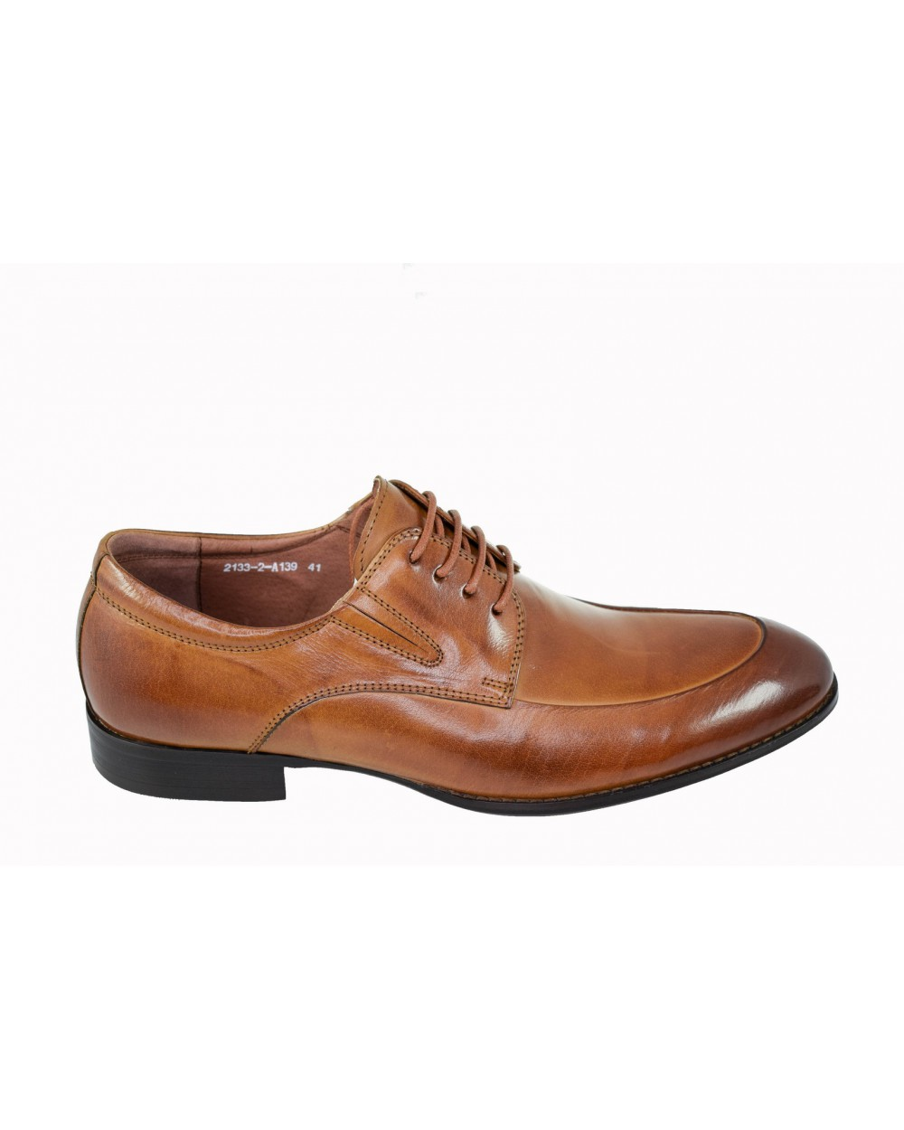 Półbuty BROOMAN - 2133-2-A139 brązowy
