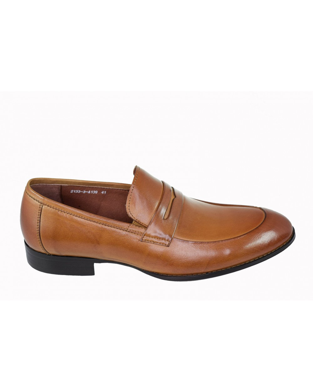 Półbuty BROOMAN - 2133-3-A139 brązowy